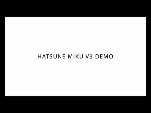 [HATSUNE MIKU V3] Six Greetings(Short ver.) by きくお [初音ミク V3]