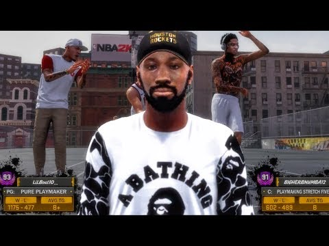 BEASTING ON 90+ OVR PLAYERS WITH OVER 1000 WINS! NBA 2K18 MyPark Gameplay