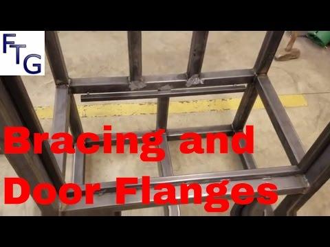Insulated Reverse Flow BBQ Smoker Trailer Build Part 3