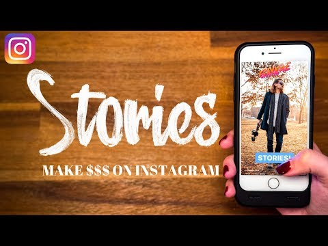 // Make $$$ with Instagram Stories //