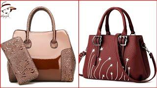 Designer Ladies Leather Handbags Latest Design 2020  Womens Leather Handbag  Leather Shoulder Bags