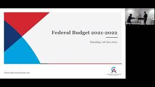 Recording – Federal Budget