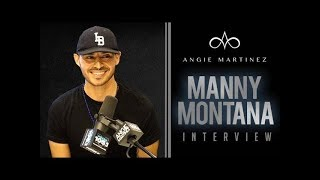 "Manny Montana Talks Role on ""Good Girls"", Starting Off In Radio + More!"