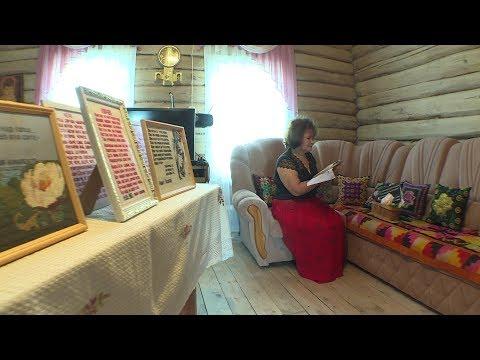 Жительница Аургазинского района вышивает строчки художественных произведений своих земляков