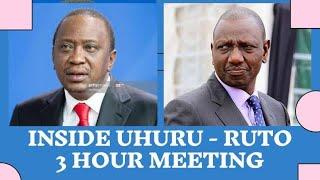 The 3 Hour  UHURU  RUTO MEETING at statehouse that made BBI Signature Launch Postponed