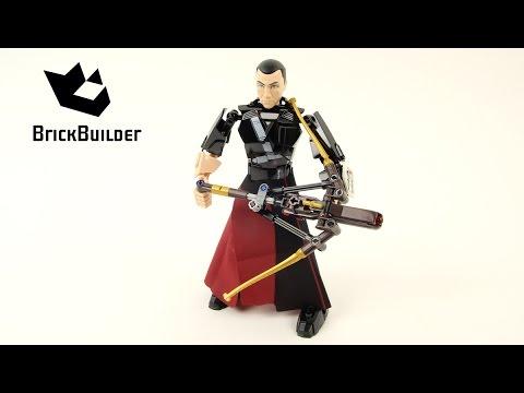 Vidéo LEGO Star Wars 75524 : Chirrut Îmwe