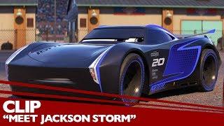 """Meet Jackson Storm"" Clip - Disney/Pixar"