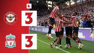 WISSA DENIES LIVERPOOL WIN! | Brentford 3-3 Liverpool | Premier League Highlights