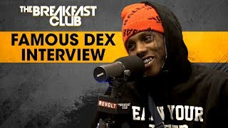 The Breakfast Club - Famous Dex Addresses Domestic Abuse, Talks Stage Antics, Rich The Kid & Lil Uzi Beef + More