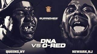 DNA VS O-RED SMACK/ URL RAP BATTLE | URLTV