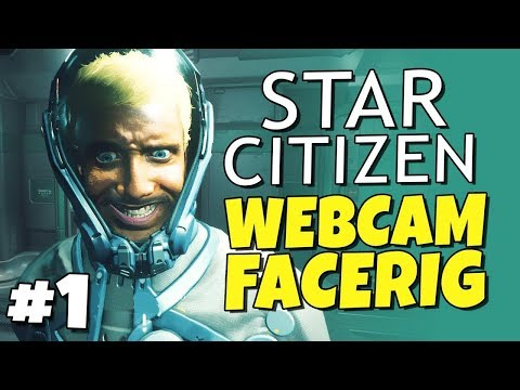 Robbaz demonstrating the terrifying face tracking in Star Citizen