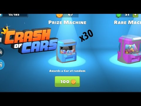 Crash Of Cars EPIC 3K Coins Spent On Prize Machine !!
