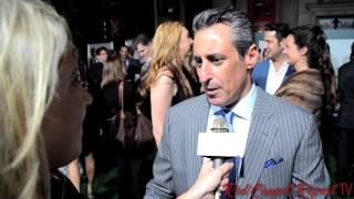 JB  Bernstein at the World Premiere of #Disney's #MillionDollarArm @JBBernstein