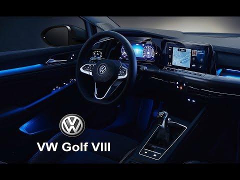 2020 Volkswagen Golf 8 – INTERIOR Details