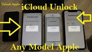 Unlock iCloud Activation Lock✔️ & Network✔️ WithOut Apple ID Any iOS All Models✔️
