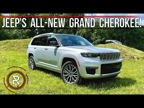 The 2021 Jeep Grand Cherokee L is Jeep's Much Needed All-New 3-Row Family SUV