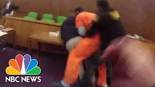 Man Attacks His Attorney In Court After Receiving 47 Year Sentence | NBC News