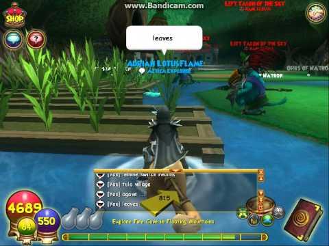 Wizard101: Reagent Farming (Khonda Desert in Khrysalis 1