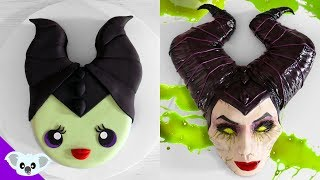 CUTE AND SCARY MALEFICENT CAKES | Scary Halloween Cake Ideas | Party Ideas