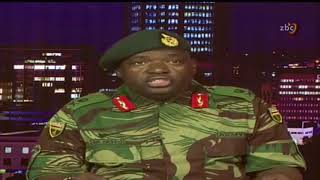 Zimbabwe: National Army full video statement