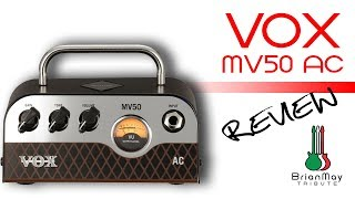 Vox MV50 AC Review - (ENG.SUBS.)