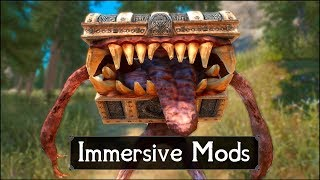 Skyrim: The Scariest Chest You Will Ever Meet – Immersive Skyrim Mods #9