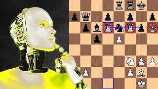 AlphaZero's Dark-Square Domination