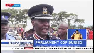 Femicide victim Police Constable Helen Kwamboka buried