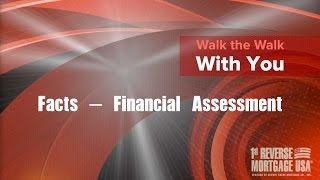 Video 2 - Reverse Mortgage Financial Assessment