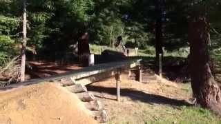 preview picture of video 'Sneak Peek: Skyline Rotorua MTB Gravity Park'
