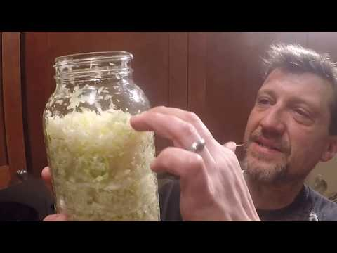 Making Homestead Sauerkraut with ART and BRI