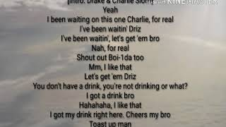 Drake   Fire In The Booth Lyrics