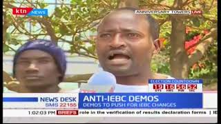 Man prays for 3 hours amidst NASA anti-IEBC demonstrations