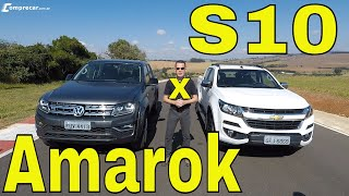 Comparativo: Amarok V6 x S10 High Country