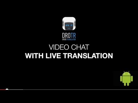 Video of DROTR Calls&Chat translation