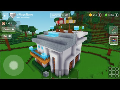 Block Craft 3D : Building Simulator Games For Free Gameplay#407 (iOS & Android) | Modern House