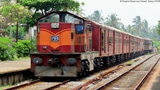 preview picture of video 'SLR's Class M6 785 departing Mount Lavinia Station hauling the Rajarata Rejina'
