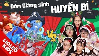 Cuộc phiêu lưu kì bí đêm Noel: Đại chiến SIÊU THÚ NGÂN HÀ giải cứu ngày Giáng sinh!!!