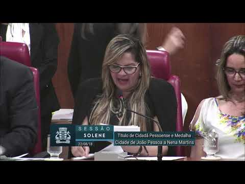 Sessão Solene na Câmara de Vereadores de João Pessoa-