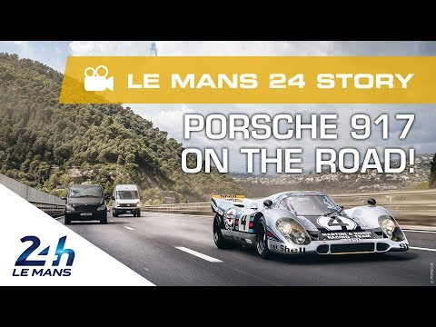 Extraordinary: A Porsche 917 Modified To Hit The Road!