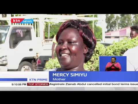 Robinson Wanjala Simiyu from Murangá high school feted after emerging top in KSCE 2020