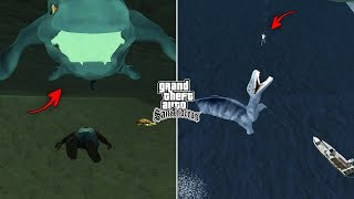 Secret Nessie Location in GTA San Andreas! (Myths & Legends)