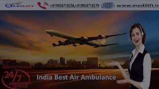 Book Masterly Patient Shifting Air Ambulance in Dibrugarh