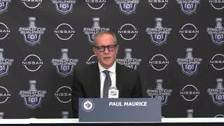 [MB] Paul Maurice on Jansen Harkins