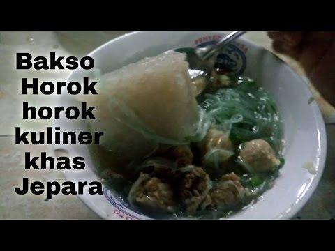Video Wajib Coba!! Bakso Horok-horok khas Dari Jepara | Super Nikmat | Jepara Traditional Culinary