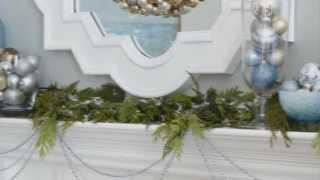 Christmas Mantel Decor In 3 Steps