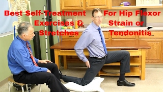 Hip Flexor Strain-Tendonitis? Best Stretches, Exercises, & Self-Treatment.