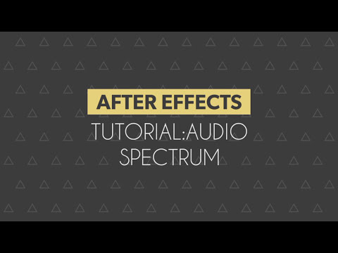 After Effects Tutorial: Audio Spectrum Effect (Trap Nation)
