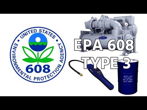 EPA 608 Prep - Type 3 - YouTube