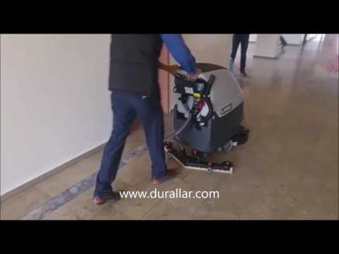 Akülü Okul Zemin Temizlik Makinası Ankara